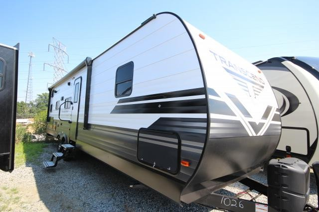 2019 Grand Design Transcend 29TBS Rear Tri-Bunk House Outdoor Kitchen U-Shaped Dinette One Slide Modern CONCORD NC