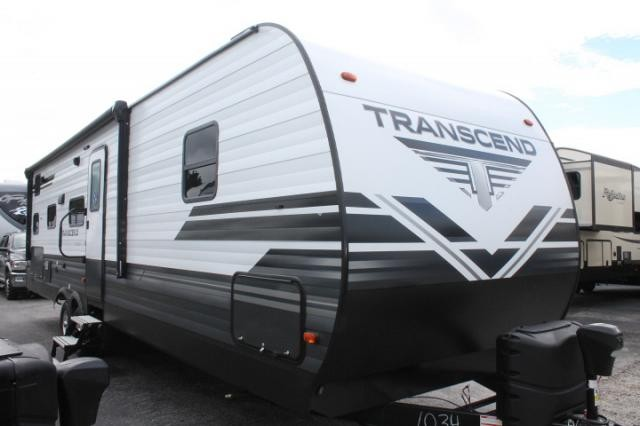 2019 Grand Design Transcend 29TBS Travel Trailer Bunkhouse 1 Slide 2nd A/C Prep Outside Kitchen Booth Dinette Great Counter Space Duncan SC