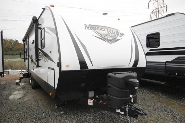 2019 Mesa Ridge 2802BH Rear Double Bunks w/ Privacy Curtain Rear Bath w/ Rear Door Full Shower U-Shaped Dinette Outdoor Kitchen CONCORD NC