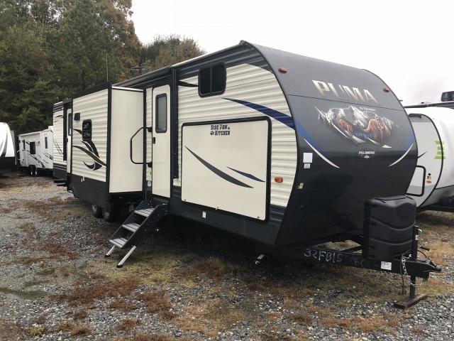2019 Palomino Puma 32FBIS Double Slide Front Bunkhouse Travel Trailer Duncan SC