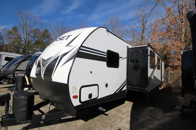 2019 Sunset Trail 336BH Rear Bunkhouse Tri-fold Sofa Booth Dinette Full Shower Large Wardrobe 2 Entries 2 Slides CONCORD NC